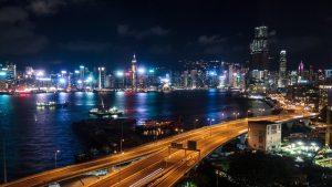 best moving rates - Hong Kong at night